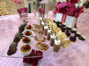 Valentine's Day Event - Season Catering Events desserts