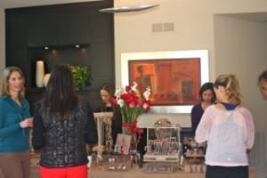 Valentine's Day Event - LFR Designs jewelry display