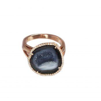 Elena Geode Ring