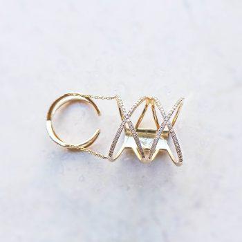 Christelle X Ring