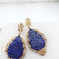 lapis_carved_earrings