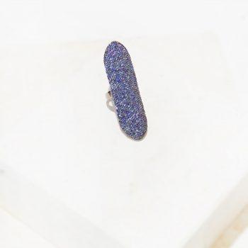 Sapphire Finger Ring